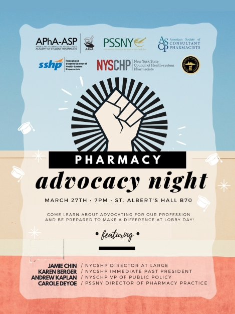 St Johns March 2019 Advocacy Night